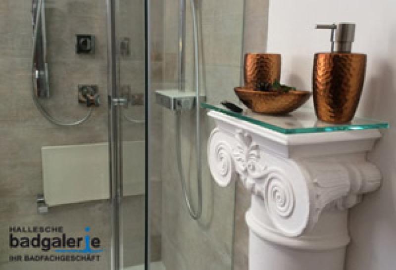 Hallesche Badgalerie - Ihr Badfachgeschäft in Halle Saale - Spezialist für Badmöbel, ebenerdige Dusche (Dusche umbauen) und barrierefreies Bad