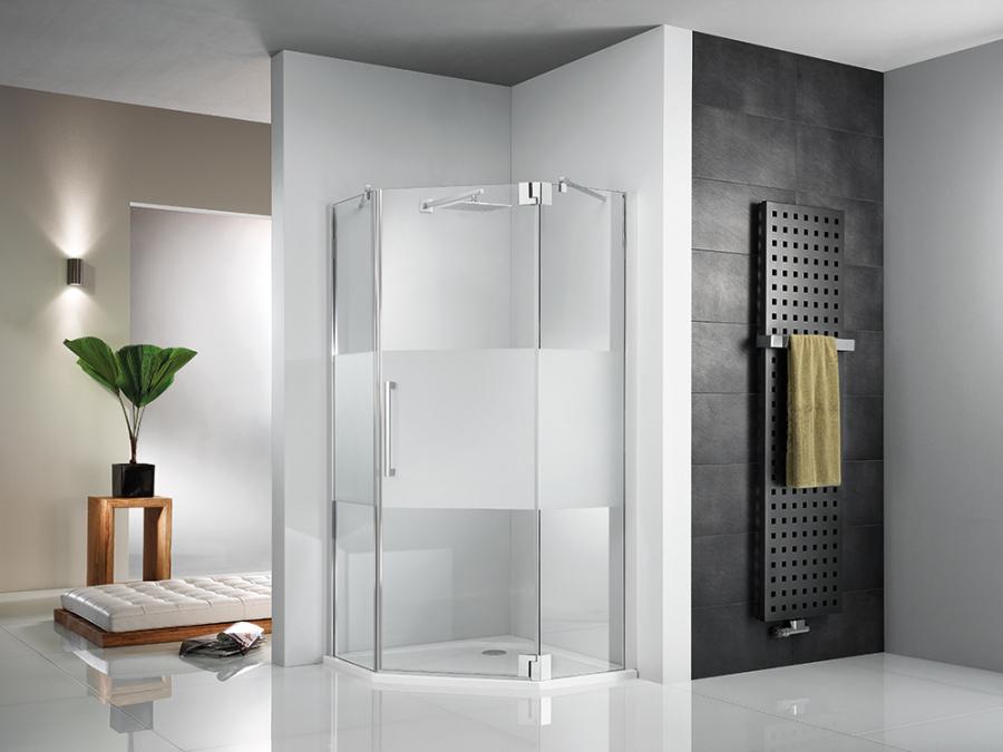 Duschsanierung in Halle Saale, flache Dusche, superflache Dusche, niedriger Duscheinstieg