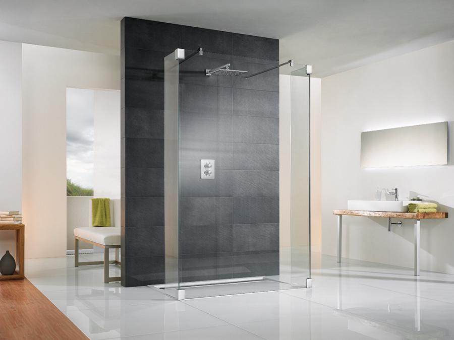 Duschsanierung in Halle Saale, Neue Dusche Umbau, ebenerdige Dusche