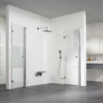Duschumbau: Ebenerdige Dusche in der Raumecke in Halle Saale