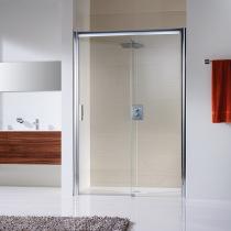 Behindertengerechtes Bad, Duschumbau in Halle Saale, Bodengleiche Dusche in der Raumnische