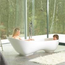 Sanierung Bad mit freistehender Badewanne