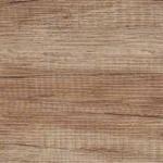 Badmöbel-Kombination u.a. erhältlich mit Möbelfront EICHE CANYON (Holzoptik und Holstruktur)