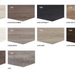 Die Möbelkombination ist in verschiedenen Oberflächen in HOLZSTRUKTUR bzw. HOLZOPTIK erhältlich.