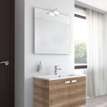 Badmöbel-Kombination u.a. erhältlich mit Möbelfront HOLZOPTIK / HOLZSTRUKTUR - EICHE CANYON
