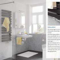 Beispielfoto für Duschumbau mit Aluminium-Dekorplatten (Maße: 1000/1500 mm x 2550 mm)