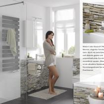 Beispielfoto für XXL-Duschrückwand in Steinoptik / Mauerdekor
