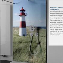 Duschrückwand mit persönlichen Wunschbild: Mit RenoDeco sind Ihren Gestaltungsideen im Badezimmer keine Grenzen gesetzt!