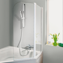 Beispielfoto für Badewannenaufsätze für Eckbadewanne in 1-, 2- oder 3-teiliger Ausführung