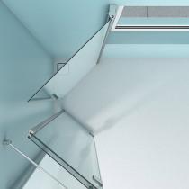 Glasdusche am Fenster einbauen in Halle/Saale