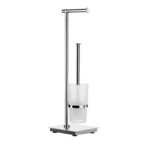 Beispielfoto für Standgarnitur für Toilettenpapier und WC-Bürste (erhältlich in unserer Badausstellung)
