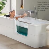 Badewanne mit Tür - Produktvorteil 1: Bequeme Badewanne