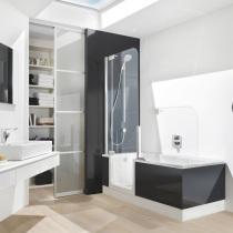 Duschbadewanne für kleines Bad